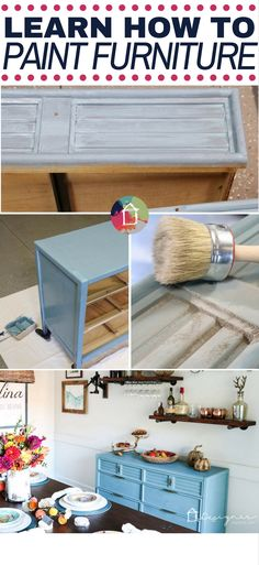 FINALLY A Tutorial To Show You How To Paint A Dresser The Correct Way With  The