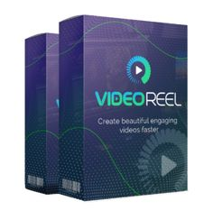 Videoreel review:  The strategy here is quite simple yet extremely powerful. Hit your audience with an engaging headline followed by your call to action message within 10 seconds. When you see the cost of this product, as a marketer I think buying it a no brainer.  To find out more visit: http://productreviewresults.com/videoreel-review-worth-money/