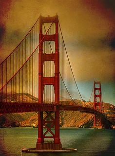 Golden Gate Bridge, San Francisco.  A place I love that will no longer signal despair.