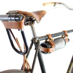 Leather Bike Accessories
