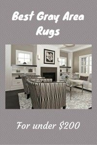 This article features stylish and popular gray area rugs.  Most are contemporary and transitional in style.