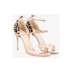 Jennifer Chamandi Rolando Sandals ($680) ❤ liked on Polyvore featuring shoes, sandals, patent shoes, nude patent shoes, nude sandals, patent leather shoes and nude patent leather shoes