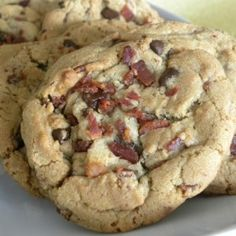Bacon Chocolate Chip Cookies | Farmer John  these sound really good