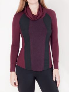 - What You Need to Know - Specs - Shipping What you need to know: - Cozy yet streamlined top inspired by ski wear. - As comfortable as athletic wear, but totally appropriate for work: wear Berea to a