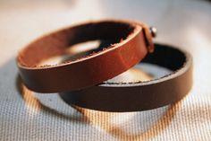 Couple Bracelet, Customizable Leather Custom Bracelet