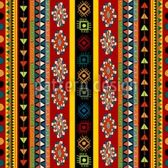 Clip Art Mexican Pattern Clipart - Clipart Suggest Textile Patterns, Beading Patterns, Embroidery Patterns, Motif Design, Surface Pattern Design, Tribal Prints, Tribal Art, Spice Rack Design, Mexican Pattern