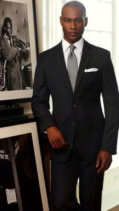 Style truth in men's suits. very nice