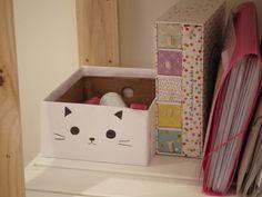 A tire-cocotte: DIY : décorer une boîte à chaussures en cinq minutes.