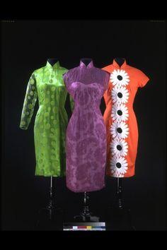 Qipaos 1950s-1960s The Victoria & Albert Museum