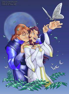 Fan Art of Quest for Camelot for fans of Quest for Camelot 28049810 Disney Films, Disney And Dreamworks, Disney Pixar, Quest For Camelot, Couple Cartoon, Cartoon Shows, Disney And More, Disney Love, Die Legende Von Camelot