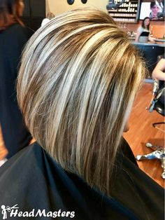 Hair Color Highlights Low Lights Ideas Bob Hairstyles 70 New Ideas Chunky Blonde Highlights, Hair Highlights And Lowlights, Hair Color Highlights, Hair Color Balayage, Highlight And Lowlights, Caramel Highlights, Blonde Color, Hair Colour, Short Hair With Layers