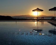 Sunset in Chania, Crete Chania Greece, Private Room, My Dream, Patio, Vacation, Sunset, Cyprus, Building, Places