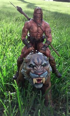 Ka-Zar and Zabu (Marvel Legends) Custom Action Figure