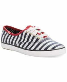 Keds Champion Patriotic Stripes Sneakers Women's Shoes #shoeaholic