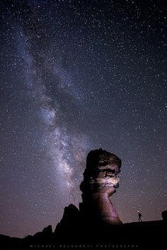 Milky Way over Roque Cinchado [Explore]
