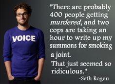 Seth Rogen - Speaking Truth