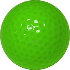 """Color Verde Lima - Lime Green!!! Golf Balls You probably use it once. How can you find such a ball on the course? """"Lost ball"""" a priori!"""