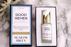 Be.You.tiful: review | Sunday Riley Good Genes
