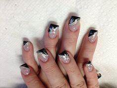 Black & White nails :-)