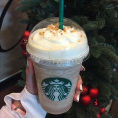 Toffee nut flavored crush Latte ❄️