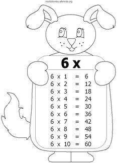 Free Grade One math printable activity worksheet. Maths Times Tables, Times Tables Worksheets, Math Tables, Kids Math Worksheets, Math Activities, Teaching Posters, Teaching Math, Math Anchor Charts, Math Manipulatives