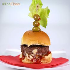 Clinton Kelly's Bloody Mary Sliders #TheChew