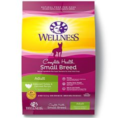 Wellness Complete Health Natural Dry  Small Breed Dog Food Turkey  Oatmeal 12Pound Bag *** Want additional info? Click on the image.