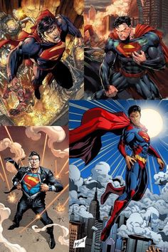 Superman Superman Art, Superman Family, Batman, Hq Marvel, Marvel Dc Comics, Comic Books Art, Comic Art, Dc Comics Collection, Marvel And Dc Characters