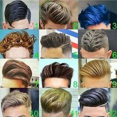 Style Hair 23 Popular Men's Hairstyles And Haircuts From Pinterest  Bbq