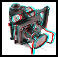 3-D Glasses  needed to see picture properly...  anaglyph. Stereoscopic 3D Effect with Anaglyph Images