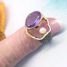 Amethyst Opal schwarz gold lila Ring Ø 180 1825 mm 925 Sterling Silber neu Lila Gold, Opal, Amethyst, Black Rhodium, Ring Designs, 18th, Gemstone Rings, Gemstones, Jewelry