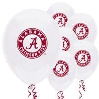 Alabama Crimson Tide Party Balloons