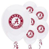 Alabama Crimson Tide Party Balloons