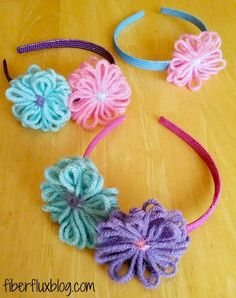 Loom Flower Headband