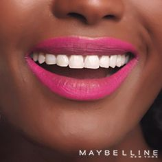 Blur it in, blur it out or reverse the script on your bold lips. With Maybelline's Color Blur, anything goes. Get turnt up with a lip that breaks rules and steals the scene. Grab some 'Orange Ya Glad', 'Plum, Please', 'Partner in Crimson', 'Pink Insanity' or any of the other 10 matte shades and get that ultimate badge of girl bosstitude.