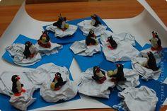 лепка пингвинов фото 1