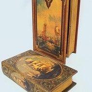 Decoratiuni vintage - set cutii carti