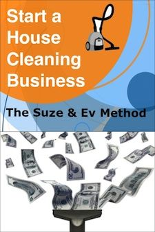 Learn how to start a cleaning business with Suze and Ev!