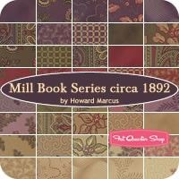 Mill Book Series Circa 1892 Collections for a Cause Fat Quarter Bundle<BR>Howard Marcus for Moda Fabrics Kansas, Quilt Patterns Free, Fabric Patterns, Headboard Art, Trouble, Floral Print Fabric, Fat Quarter Shop, Christmas Fabric, Charm Pack