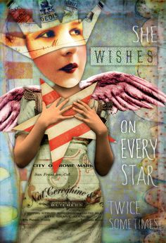 by my amazing cousin Marsha!     She Wishes by Tumble Fish Studio, via Flickr