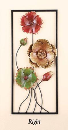 68b94e4085 Beautiful Right 3D Floral Flowers Wall Art Decor Elegant Design and  Textured #WallArts #Beautiful