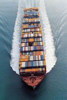 Cross the Atlantic Ocean on a container ship.