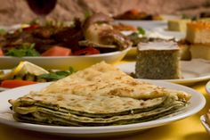 Circassian pastry with spinach, cheese and potato @ Fıccın - Discover it on  http://www.theguideistanbul.com/spots/detail/2299/Ficcin