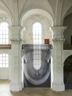 """""""Barock"""" Photographic Installation by Renate Buser"""