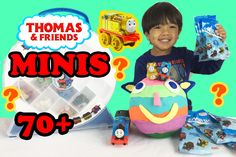 Thomas and Friends MINI BLIND BAG opening surprise toy trains collectibl...