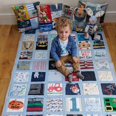 I finally got around to making my little mans quilt. It is double sided and I made 4 double sided cushions for the grandparents too. That's Mother's Day and birthdays sorted for a few months 👍 Keepsake Quilting, Man Quilt, Organic Baby, Little Man, Uk Shop, Grandparents, Baby Bodysuit, Birthdays, Cushions