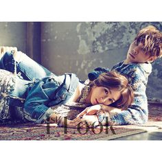 Korean Magazine Lovers (SNSD Tiffany and Lee Chul Woo - 1st Look... ❤ liked on Polyvore featuring accessories