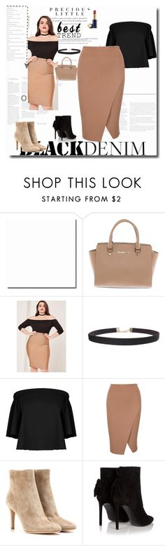 """""""'' Best Trend ''"""" by pepo-beckham ❤ liked on Polyvore featuring Michael Kors, Missguided, Humble Chic, TIBI, Gianvito Rossi, Yves Saint Laurent, Estée Lauder and Agent Provocateur"""