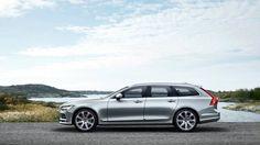 Универсал Volvo V90 2017 / Вольво V90 2017 – вид сбоку