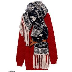 Mode guide shopping tendance look ski froid robe pull american vintage